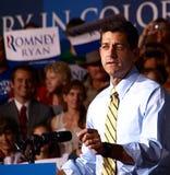 Αντιπρόεδρος Candidate Paul Ryan Στοκ Φωτογραφία