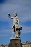 Αντιπρόσωπος αγαλμάτων το φθινόπωρο εποχής, ιερή γέφυρα τριάδας, ΛΦ Στοκ Φωτογραφία