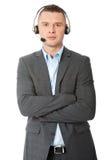 Αντιπρόσωπος εξυπηρέτησης πελατών Στοκ φωτογραφία με δικαίωμα ελεύθερης χρήσης