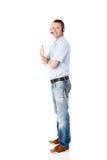 Αντιπρόσωπος εξυπηρέτησης πελατών Στοκ εικόνα με δικαίωμα ελεύθερης χρήσης