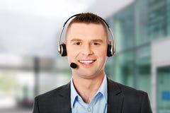 Αντιπρόσωπος εξυπηρέτησης πελατών Στοκ Εικόνες