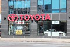 Αντιπρόσωπος της Toyota Στοκ Εικόνα