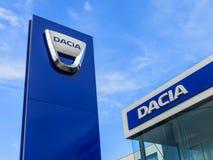 Αντιπρόσωπος Dacia στοκ φωτογραφίες