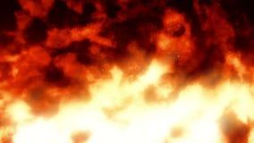 Αντιπυρική ζώνη 1 του //ζωντανεψοντας 1080p βρόχος υποβάθρου πυρκαγιάς τηλεοπτικός ελεύθερη απεικόνιση δικαιώματος