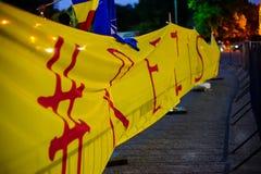 Αντισταθείτε στη σημαία, Βουκουρέστι, Ρουμανία Στοκ Φωτογραφία