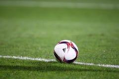 Αντιστοιχία ένωσης UEFA Ευρώπη μεταξύ του ΠΑΟΚ εναντίον ACF Fiorentina Στοκ Φωτογραφία