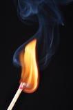 Αντιστοιχία και πυρκαγιά στοκ εικόνα