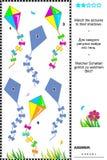 Αντιστοιχία στο παιχνίδι σκιών - ικτίνοι Στοκ φωτογραφία με δικαίωμα ελεύθερης χρήσης