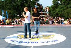 Αντιστοιχία των riverbanks πρωταθλήματα καλαθοσφαίρισης 24 ωρών Στοκ Εικόνες