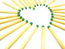 αντιστοιχίες καρδιών σύνθ Στοκ εικόνα με δικαίωμα ελεύθερης χρήσης