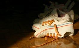 αντισφαίριση παπουτσιών στοκ εικόνες