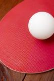 Αντισφαίριση σφαιρών σε μια ρακέτα αντισφαίρισης Στοκ φωτογραφία με δικαίωμα ελεύθερης χρήσης
