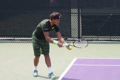 Αντισφαίριση Professiona Joao Souza ATP Στοκ Εικόνες