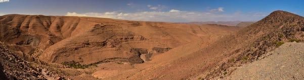 Αντι-άτλαντας, η παλαιότερη σειρά βουνών στο Μαρόκο Στοκ Φωτογραφία