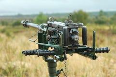 αντι μηχανή πυροβόλων όπλων αεροσκαφών Στοκ φωτογραφίες με δικαίωμα ελεύθερης χρήσης