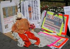 αντι πόλεμος διαμαρτυρία Στοκ εικόνες με δικαίωμα ελεύθερης χρήσης