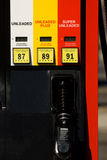 αντλία αερίου στοκ φωτογραφίες