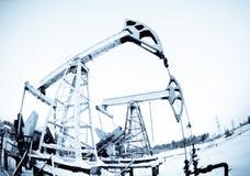 αντλία δύο πετρελαίου Στοκ φωτογραφία με δικαίωμα ελεύθερης χρήσης