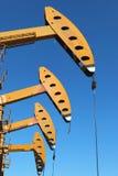 αντλία πετρελαίου γρύλων Στοκ Φωτογραφία