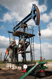 αντλία πετρελαίου γρύλων Στοκ εικόνες με δικαίωμα ελεύθερης χρήσης