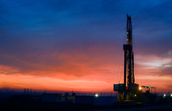 αντλία πετρελαίου Στοκ Φωτογραφίες