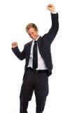 αντλία πυγμών επιχειρηματ&i στοκ εικόνες