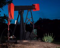 αντλία Ρωσία Σιβηρία πετρελαίου γρύλων εξαγωγής δυτική Στοκ Εικόνες