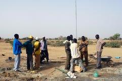 αντλία του Burkina Faso συμβολικών γλωσσών Στοκ Φωτογραφίες