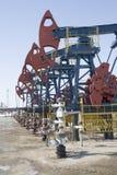 αντλίες πετρελαίου στοκ φωτογραφία