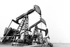Αντλώντας μηχανές πετρελαίου Στοκ Εικόνες
