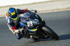 24 ΑΝΤΟΧΗ ΩΡΩΝ MOTORCYCLING ΤΗΣ ΒΑΡΚΕΛΩΝΗΣ Στοκ Φωτογραφίες