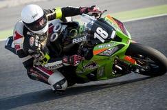24 ΑΝΤΟΧΗ ΩΡΩΝ MOTORCYCLING ΤΗΣ ΒΑΡΚΕΛΩΝΗΣ Στοκ Φωτογραφία
