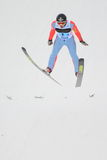 Αντρέι Gasienica - άλμα σκι Στοκ Εικόνες