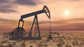 αντλία Ρωσία πετρελαίου βιομηχανίας Στοκ Φωτογραφίες