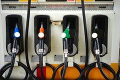Αντλίες βενζίνης Στοκ εικόνες με δικαίωμα ελεύθερης χρήσης