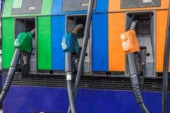Αντλίες βενζίνης Στοκ φωτογραφία με δικαίωμα ελεύθερης χρήσης
