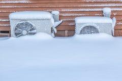 Αντλίες θερμότητας Στοκ φωτογραφία με δικαίωμα ελεύθερης χρήσης