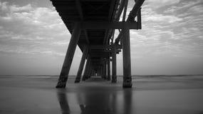 Αντλώντας λιμενοβραχίονας άμμου Στοκ φωτογραφία με δικαίωμα ελεύθερης χρήσης