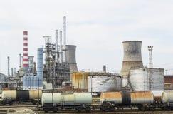 Αντλώντας πετρέλαιο Στοκ Εικόνες