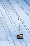 Ανυψωτικοί εργαζόμενοι γερανών κατασκευής Στοκ φωτογραφίες με δικαίωμα ελεύθερης χρήσης