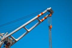 Ανυψωτικός γερανός αργιλίου Στοκ φωτογραφίες με δικαίωμα ελεύθερης χρήσης