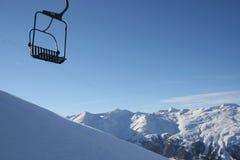 ανυψώστε το σκι Στοκ Εικόνα