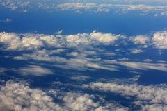 2 ανωτέρω σύννεφα Στοκ εικόνες με δικαίωμα ελεύθερης χρήσης