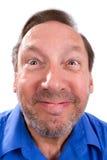 Ανόητο αστείο ανώτερο άτομο Στοκ φωτογραφίες με δικαίωμα ελεύθερης χρήσης