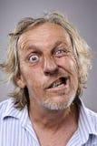 Ανόητο αστείο πρόσωπο Στοκ Φωτογραφία