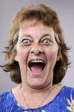 Ανόητο αστείο πρόσωπο Στοκ φωτογραφία με δικαίωμα ελεύθερης χρήσης