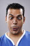 Ανόητο αστείο πρόσωπο Στοκ εικόνες με δικαίωμα ελεύθερης χρήσης
