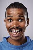 Ανόητο αστείο πρόσωπο Στοκ Φωτογραφίες