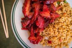 Ανόστεο μεσημεριανό γεύμα μπριζολών Στοκ φωτογραφία με δικαίωμα ελεύθερης χρήσης