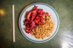 Ανόστεο μεσημεριανό γεύμα μπριζολών Στοκ Φωτογραφία